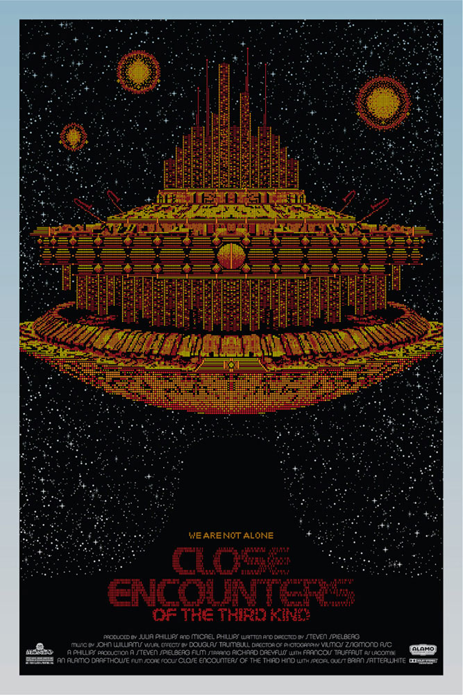 Close Encounters Of The Third Kind - Variant par Steven Spielberg