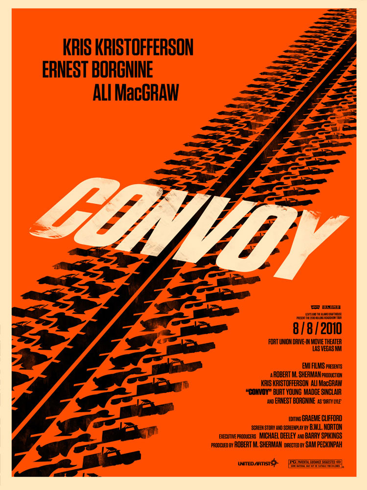 Convoy par Sam Peckinpah