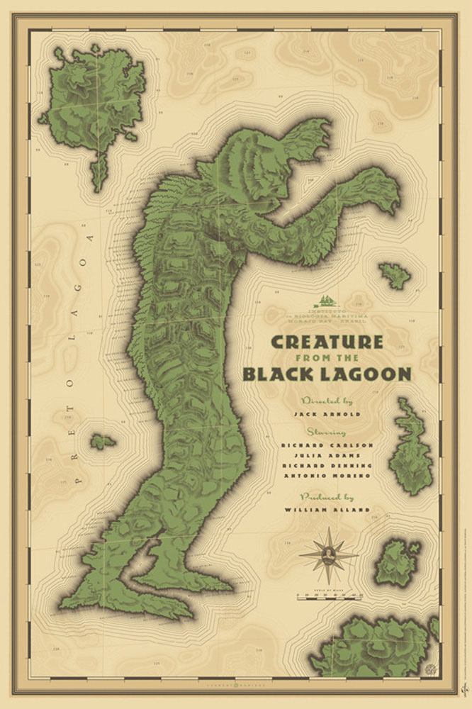 Creature From The Black Lagoon par Jack Arnold