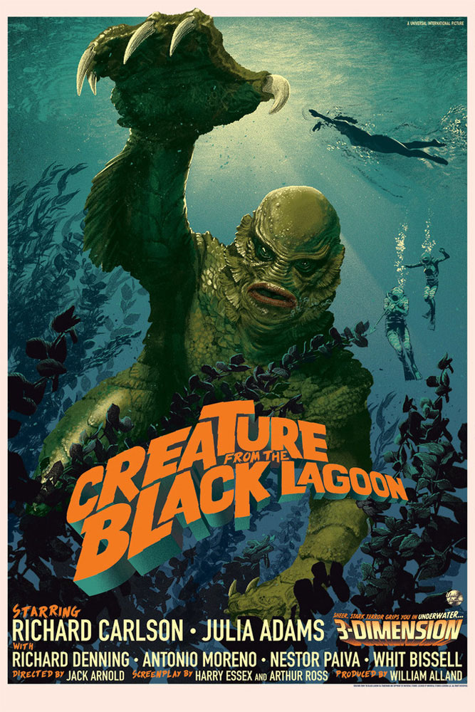 Creature From The Black Lagoon - Regular par Jack Arnold