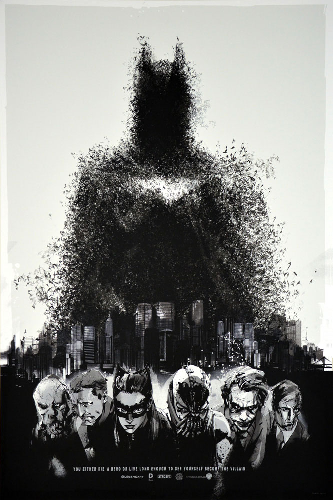 Dark Knight Rises (the) - Variant by Christopher Nolan