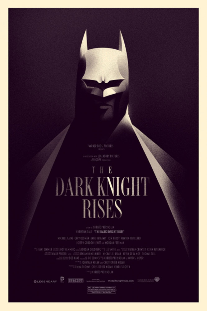Dark Knight Rises (the) - Variant par Christopher Nolan