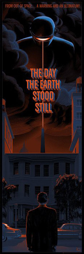 Day The Earth Stood Still (the) - Regular by Robert Wise (12 x 36 in)