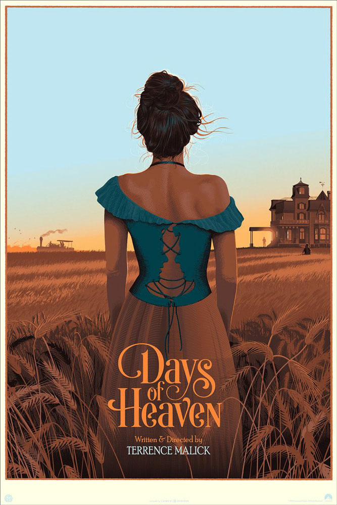 Days Of Heaven - Variant by Terrence Malick (24 x 36 in)