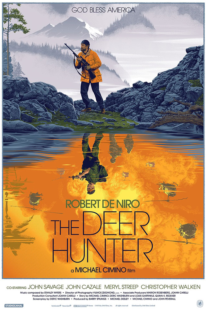Deer Hunter (the) - Regular par Michael Cimino (61 x 91 cm)