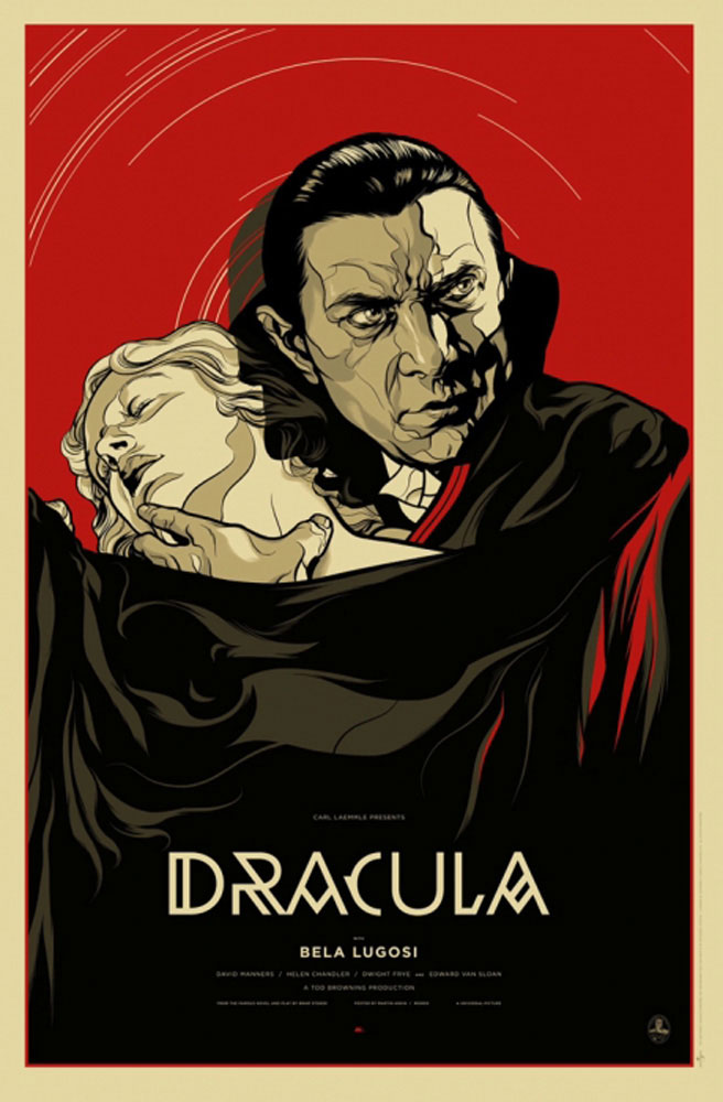 Dracula - Regular par Tod Browing (61 x 91 cm)
