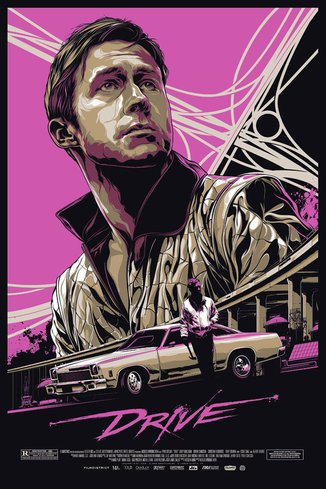 Drive by Nicolas Winding Refn (24 x 36 in)
