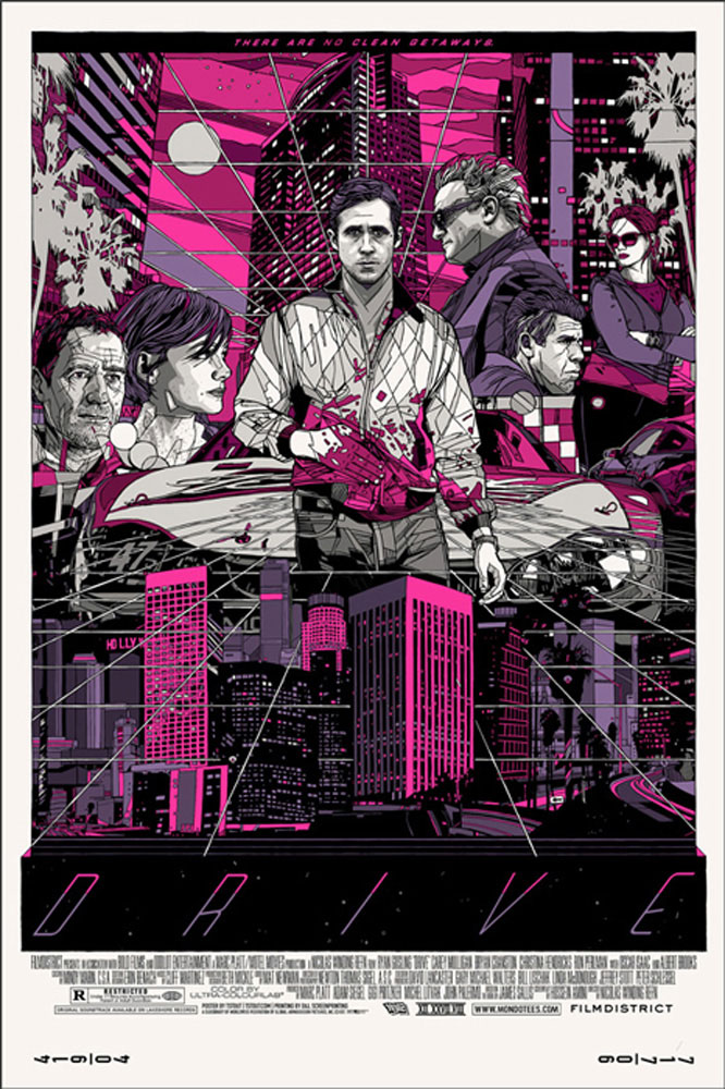 Drive - Cityscape - Regular by Nicolas Winding Refn (24 x 36 in)