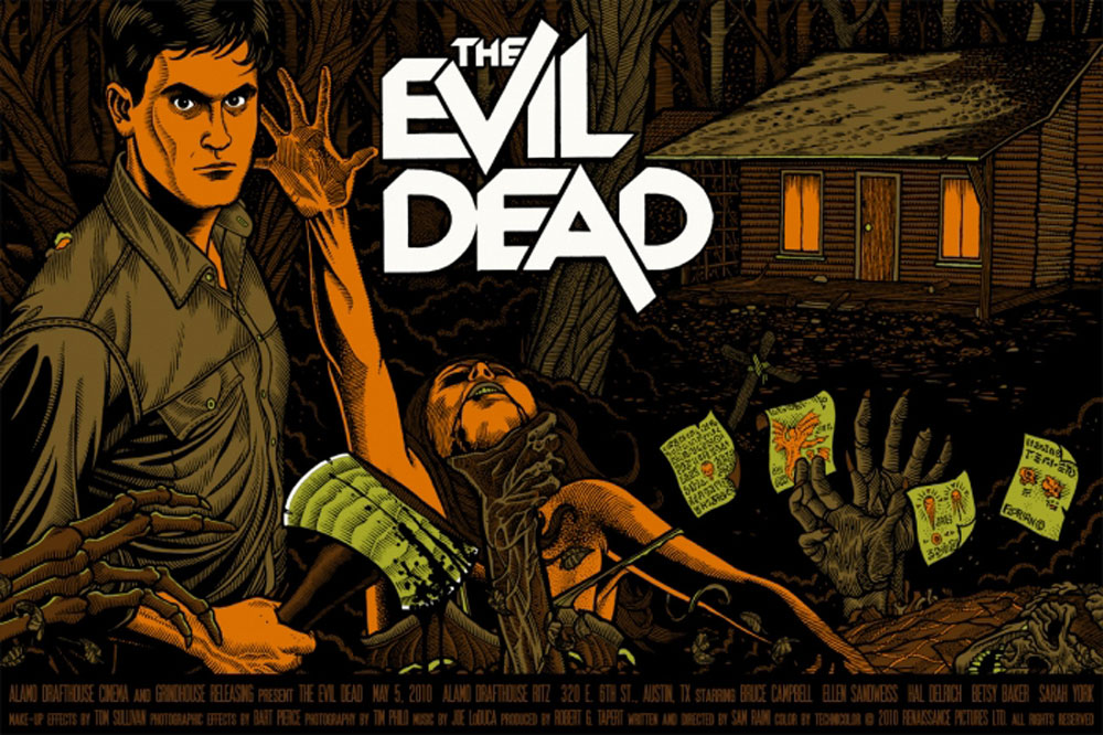 Evil Dead (the) by Sam Raimi