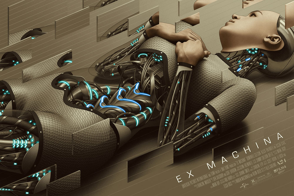 Ex Machina - Regular by Alex Garland (24 x 36 in)