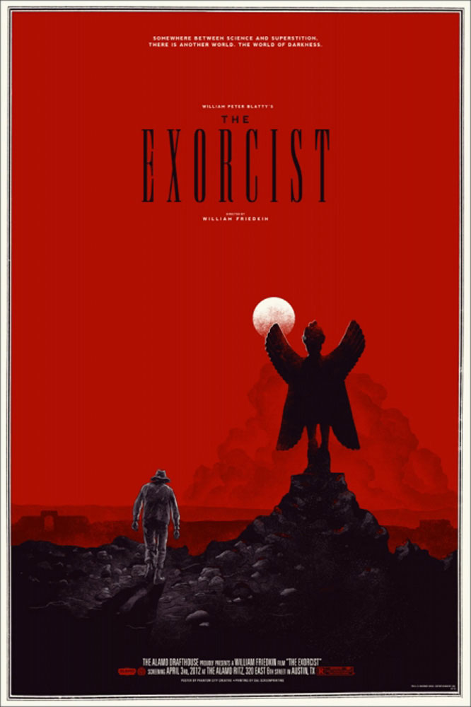 Exorcist (the) par William Friedkin (61 x 91 cm)