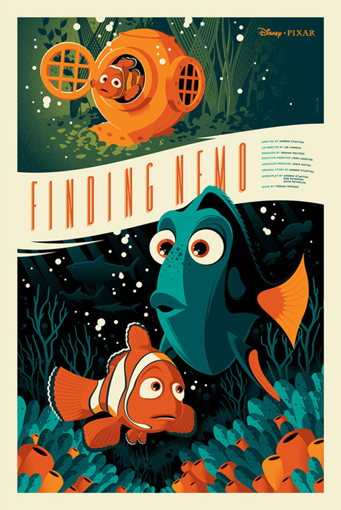 Finding Nemo by Walt Disney (24 x 36 in)