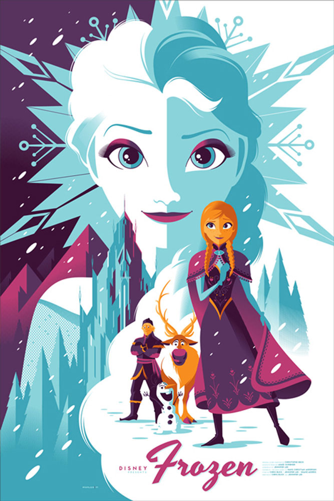 Frozen by Walt Disney