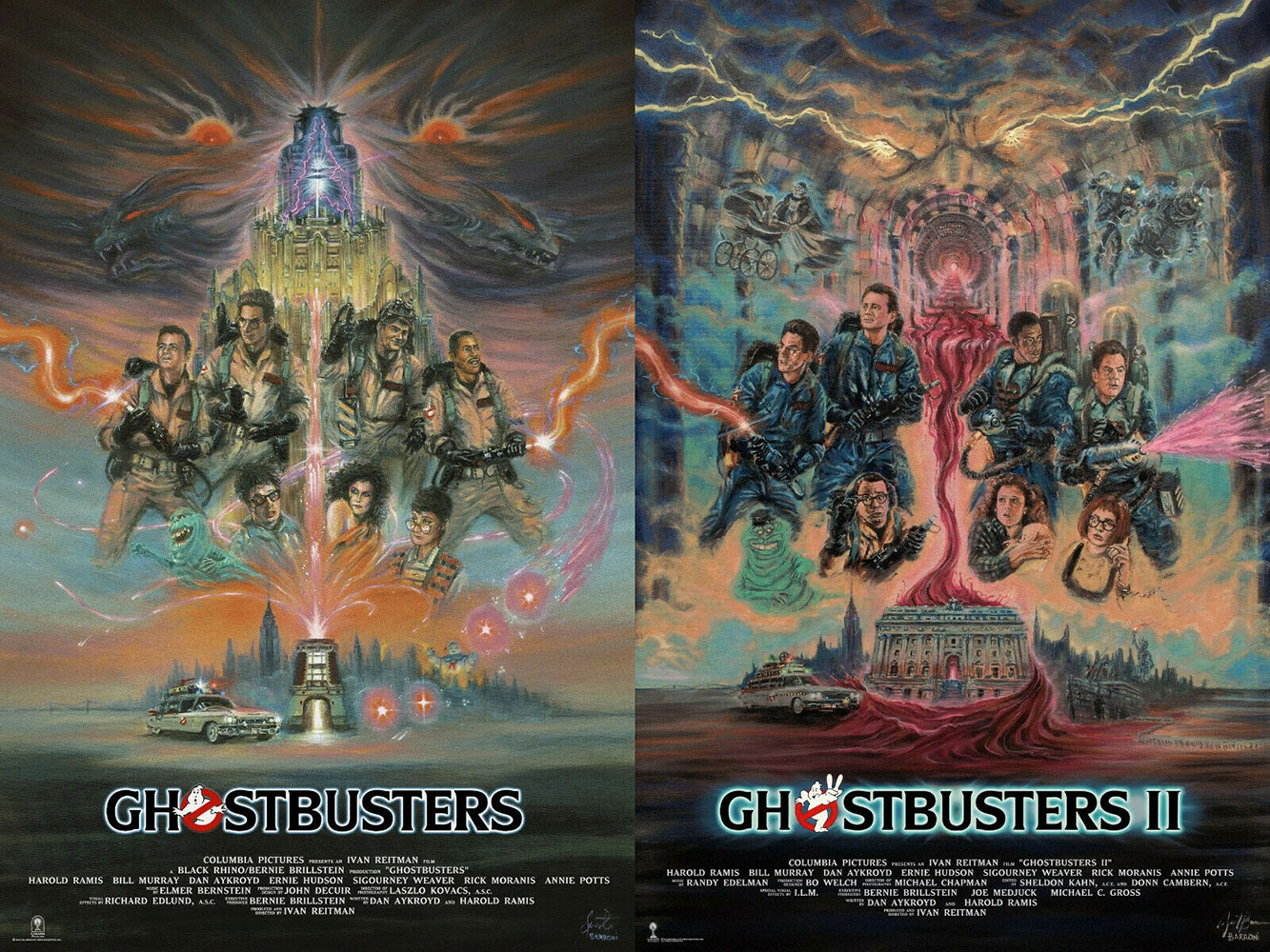 Ghostbusters I & Ii (set Of 2 Prints) par Ivan Reitman