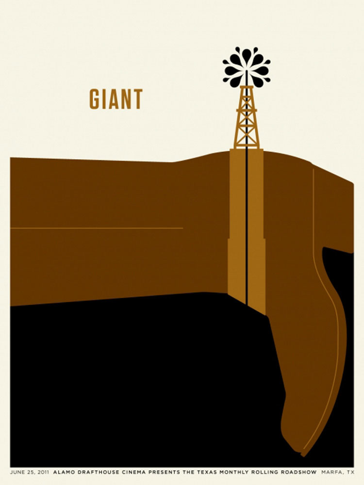 Giant by George Stevens (18 x 24 in)