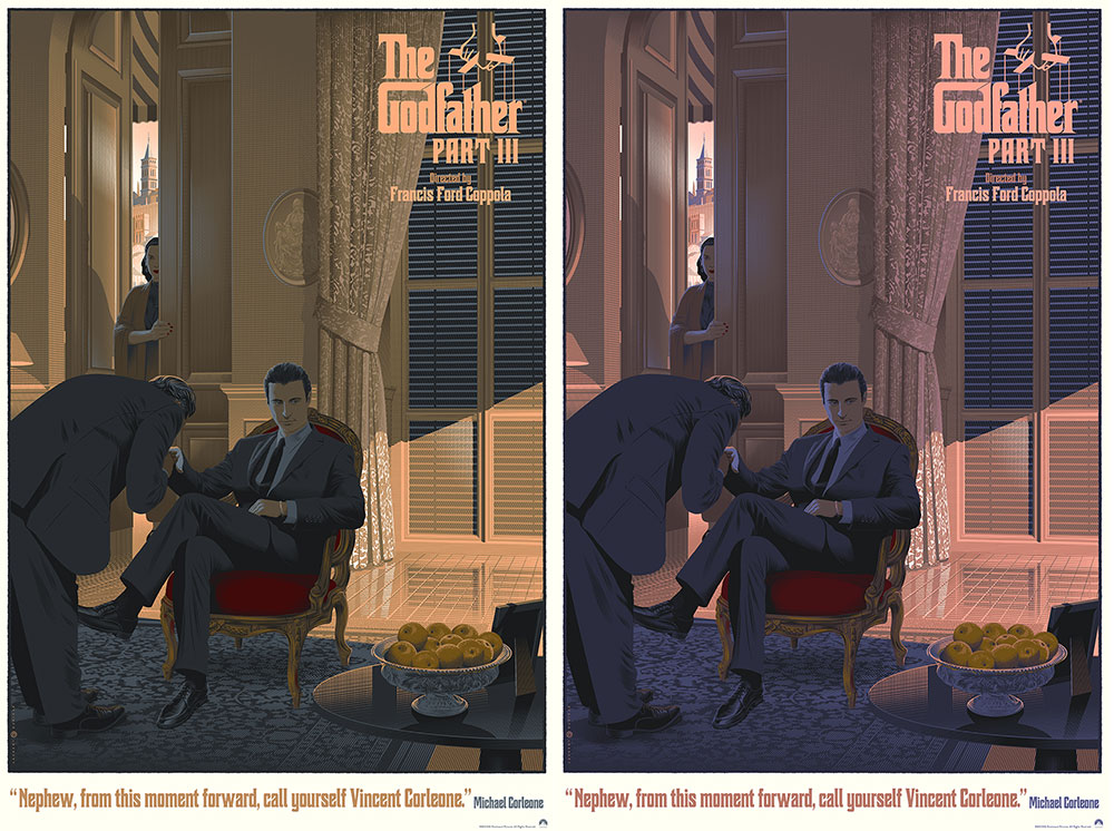 Godfather (the) Part 3 - Reg & Var - Set Of 2 Prints by Francis Ford Coppola (24 x 36 in)