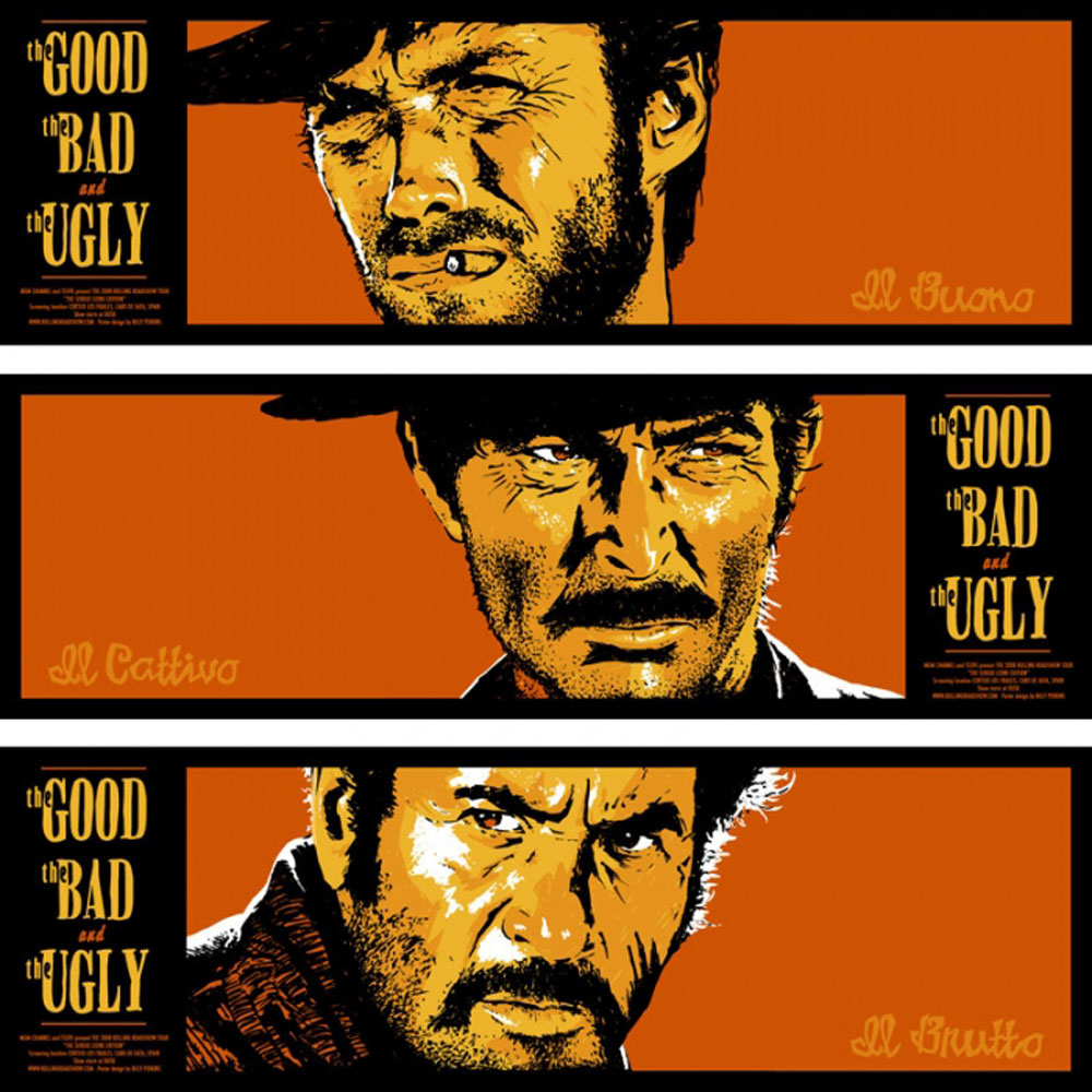 Good The Bad The Ugly (the) (set Of 3 Prints) par Sergio Leone