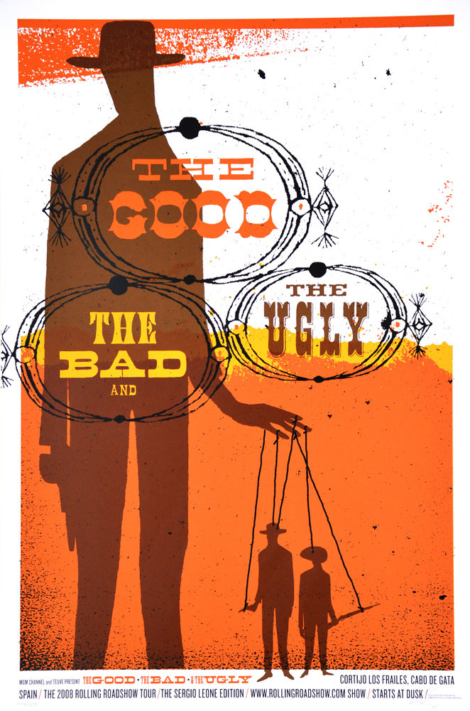 Good The Bad The Ugly (the) par Sergio Leone (61 x 91 cm)
