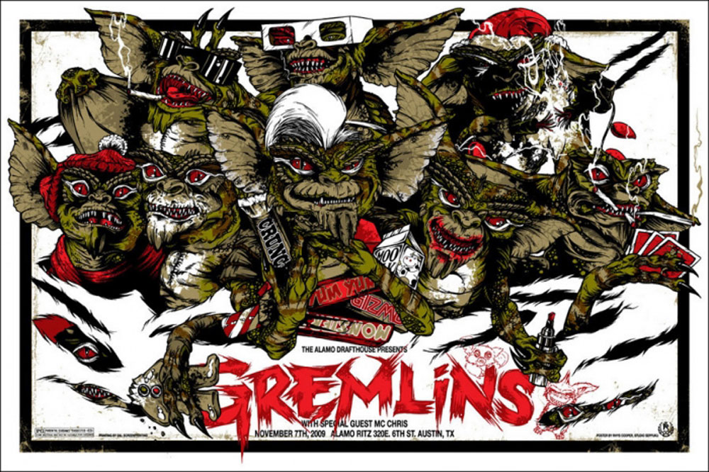 Gremlins by Joe Dante (24 x 36 in)