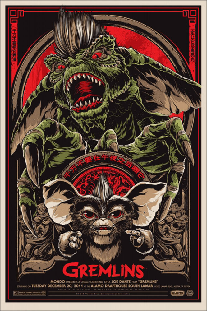 Gremlins - Regular by Joe Dante (24 x 36 in)