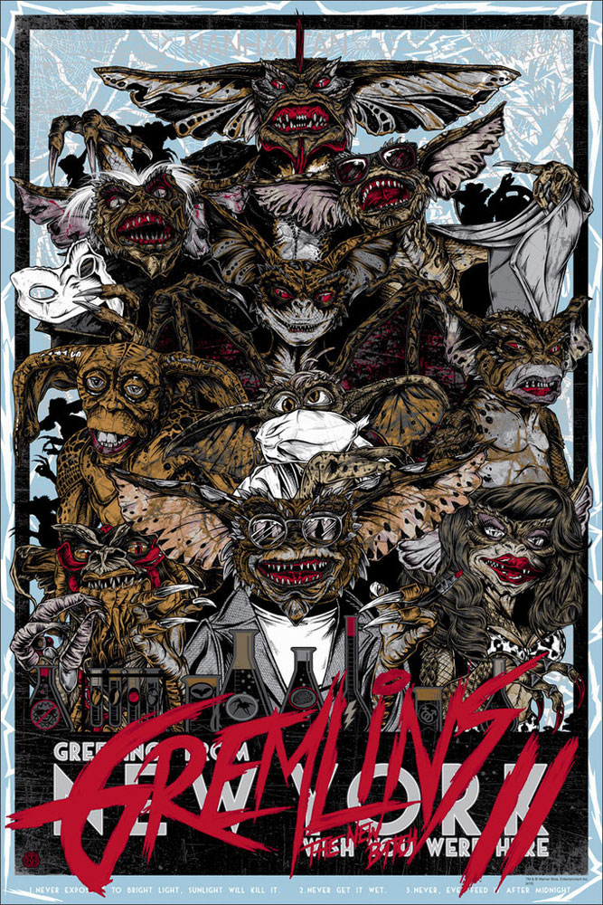 Gremlins 2 - Variant by Joe Dante