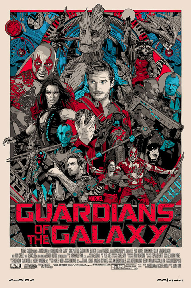 Guardians Of The Galaxy - Regular par James Gunn (61 x 91 cm)