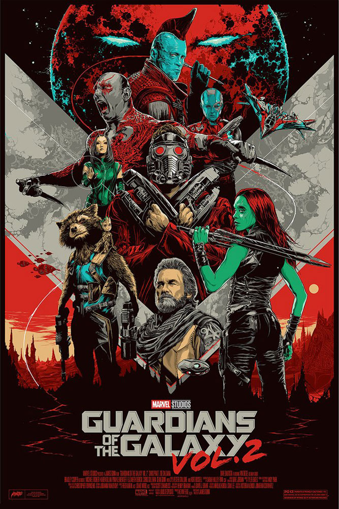 Guardians Of The Galaxy 2 (the) - Regular par James Gunn (61 x 91 cm)