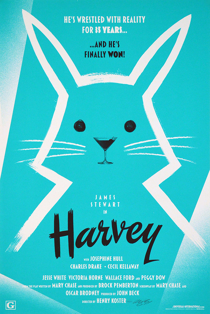 Harvey by Henry Koster (24 x 36 in)