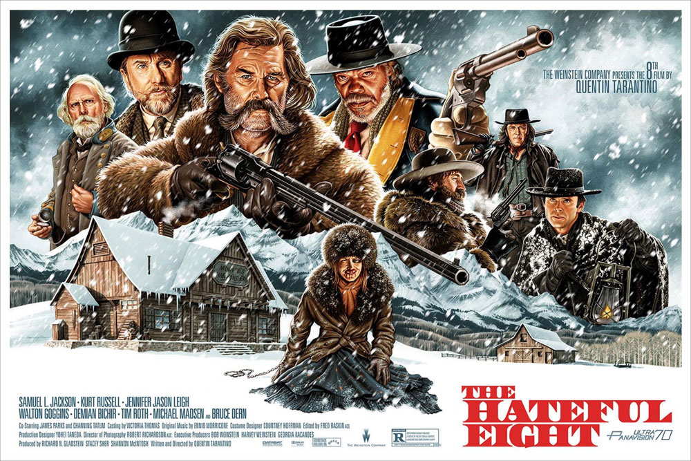 Hateful Eight (the) by Quentin Tarantino