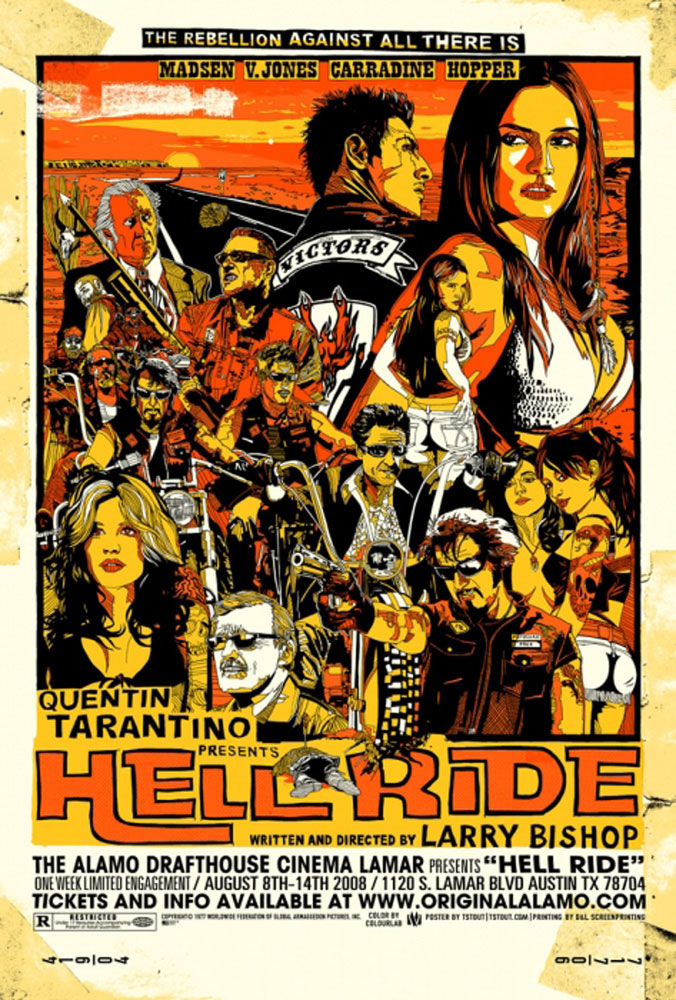 Hell Ride by Larry Bishop (24 x 36 in)