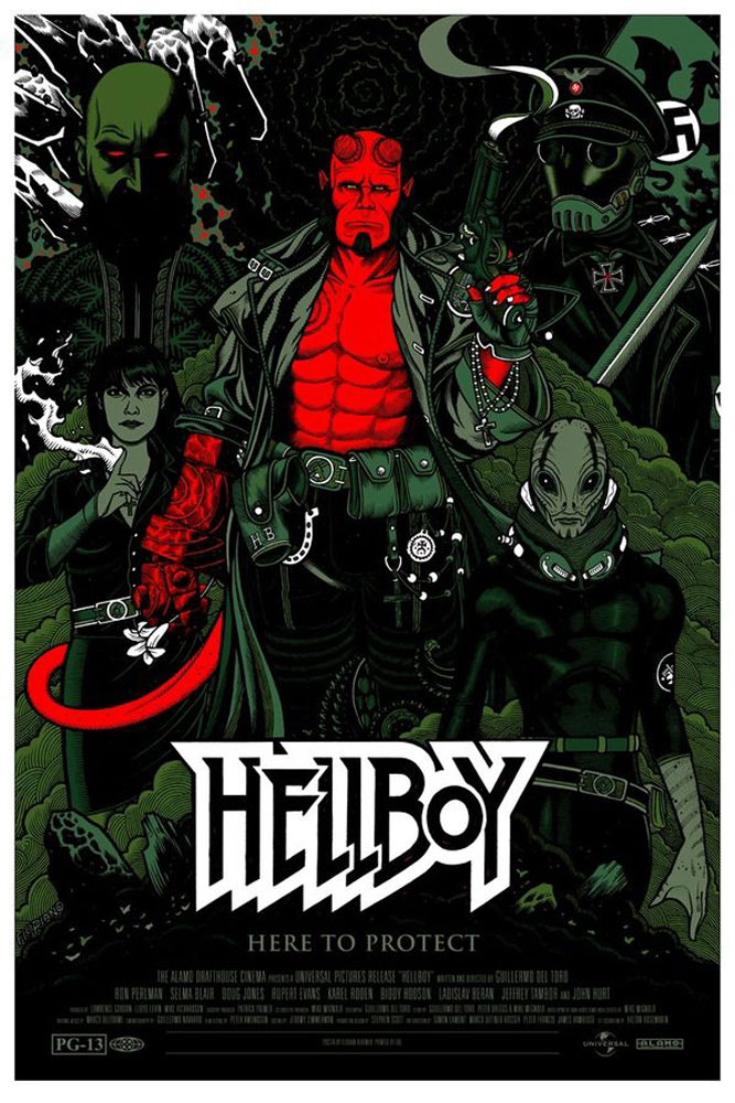 Hellboy by Guillermo Del Toro