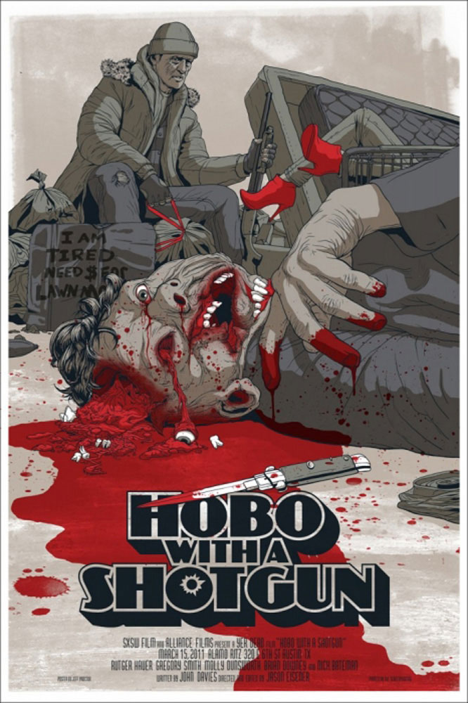 Hobo With A Shotgun par Jason Eisener