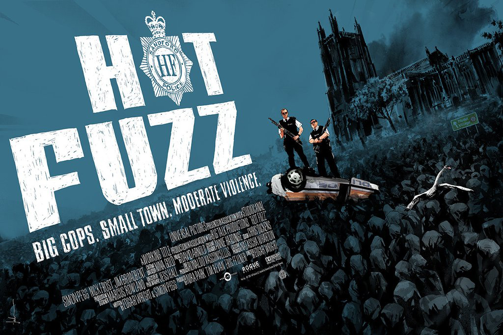 Hot Fuzz - Regular par Edgar Wright