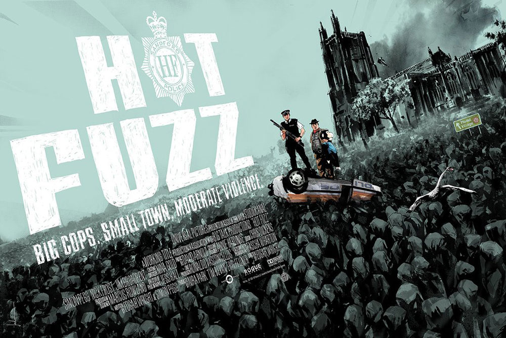 Hot Fuzz - Variant par Edgar Wright