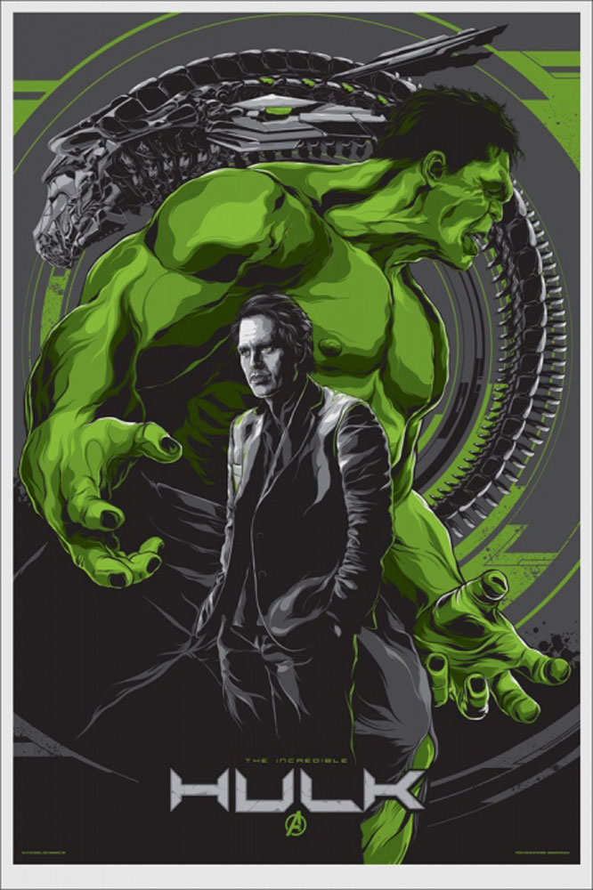 Incredible Hulk (the) par Louis Leterrier (61 x 91 cm)