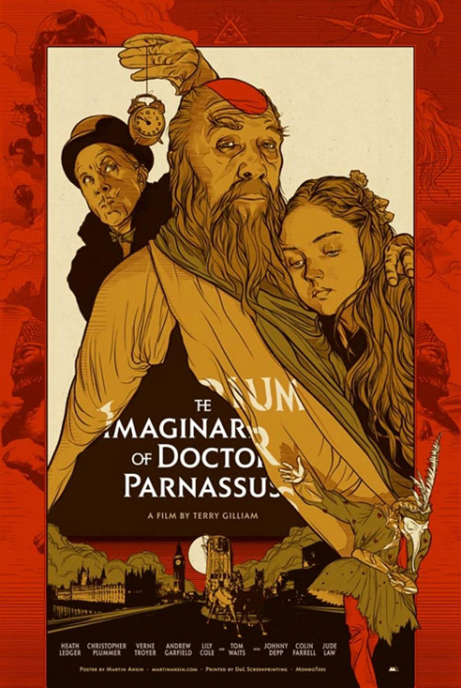 Imaginarium Of Doctor Parnassus (the) par Terry Gilliam (61 x 91 cm)