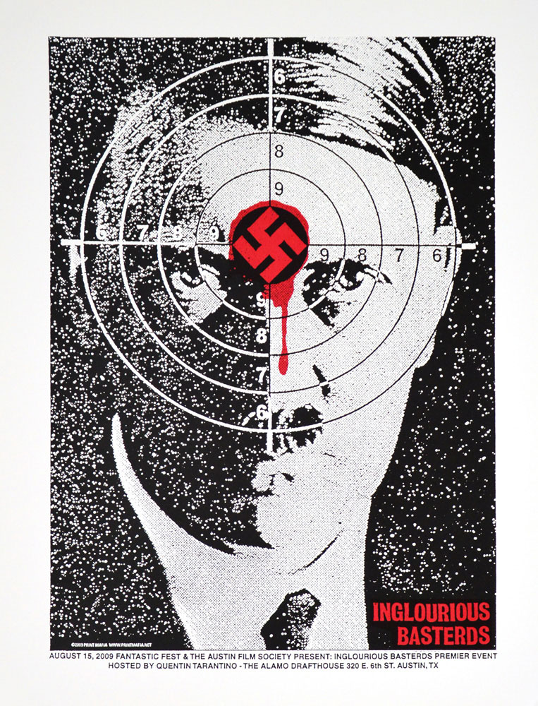 Inglourious Basterds by Quentin Tarantino (17.5 x 23 in)