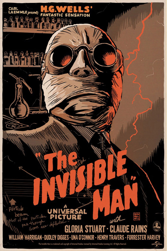 Invisible Man (the) par James Whale