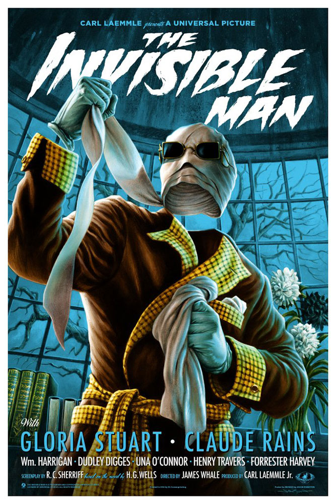 Invisible Man (the) - Regular by James Whale