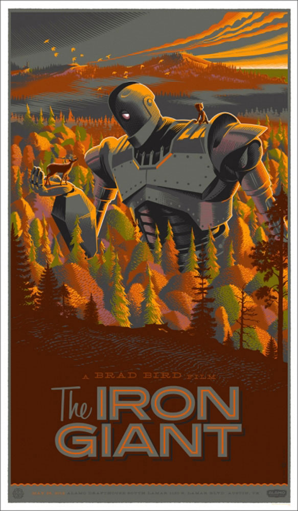 Iron Giant (the) par Brad Bird (53 x 91 cm)