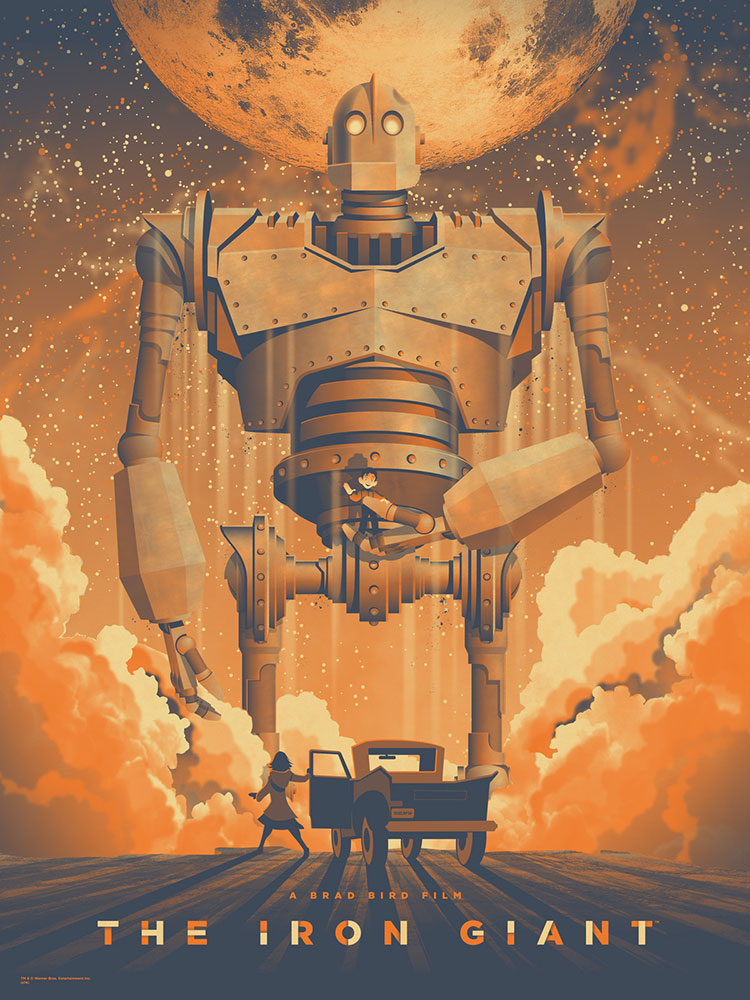Iron Giant (the) par Brad Bird
