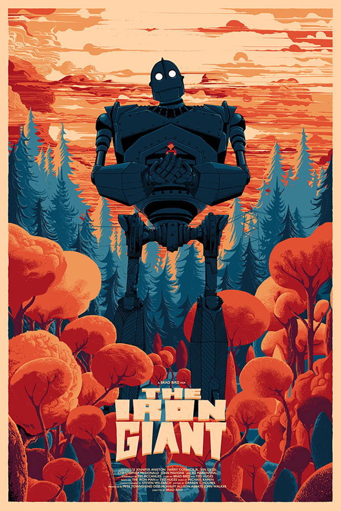 Iron Giant (the) by Brad Bird (24 x 36 in)