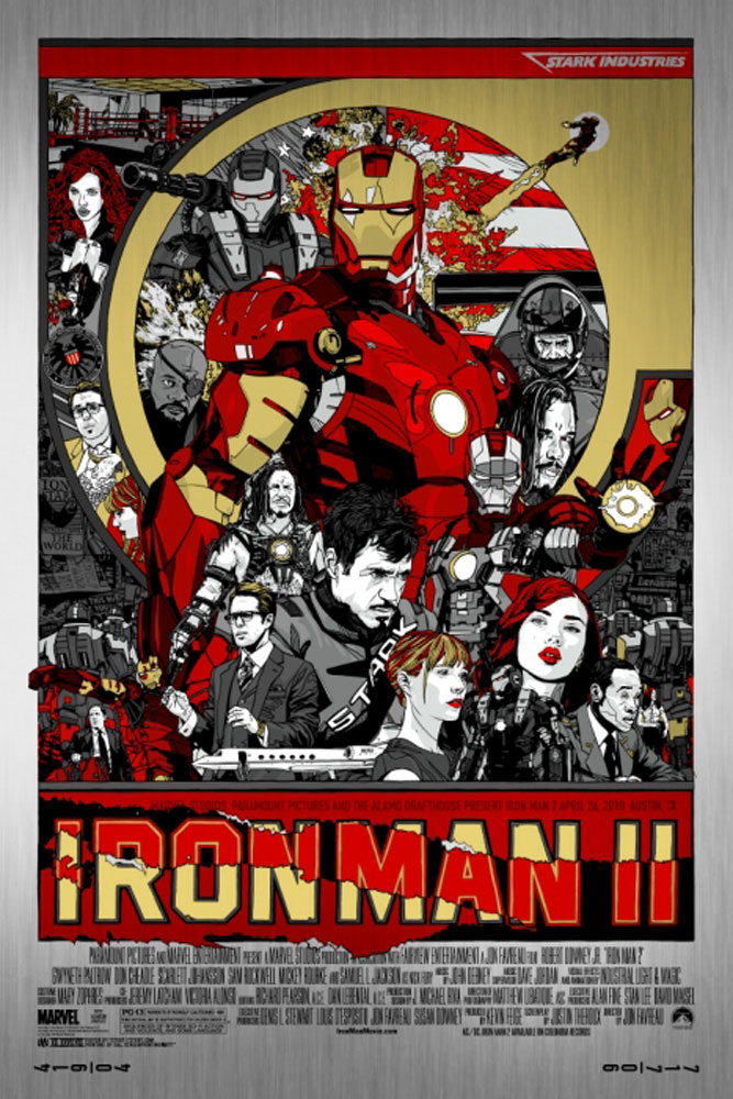 Iron Man 2 - Metal by Jon Favreau (24 x 36 in)