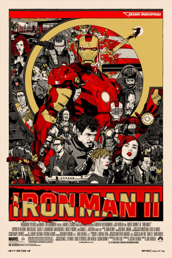 Iron Man 2 - Regular by Jon Favreau (24 x 36 in)