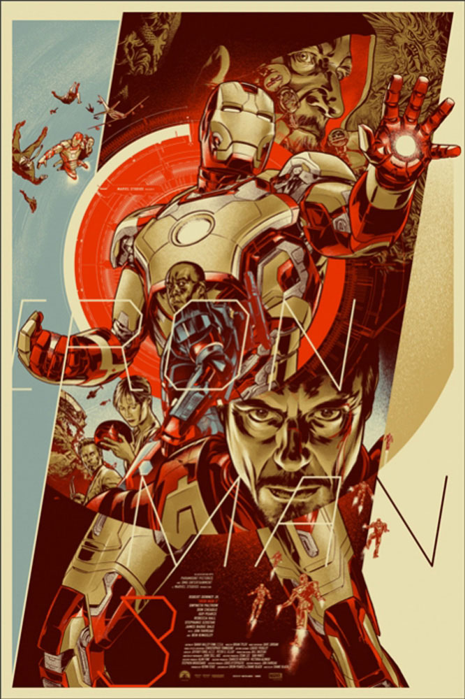 Iron Man 3 - Regular by Shane Black (24 x 36 in)