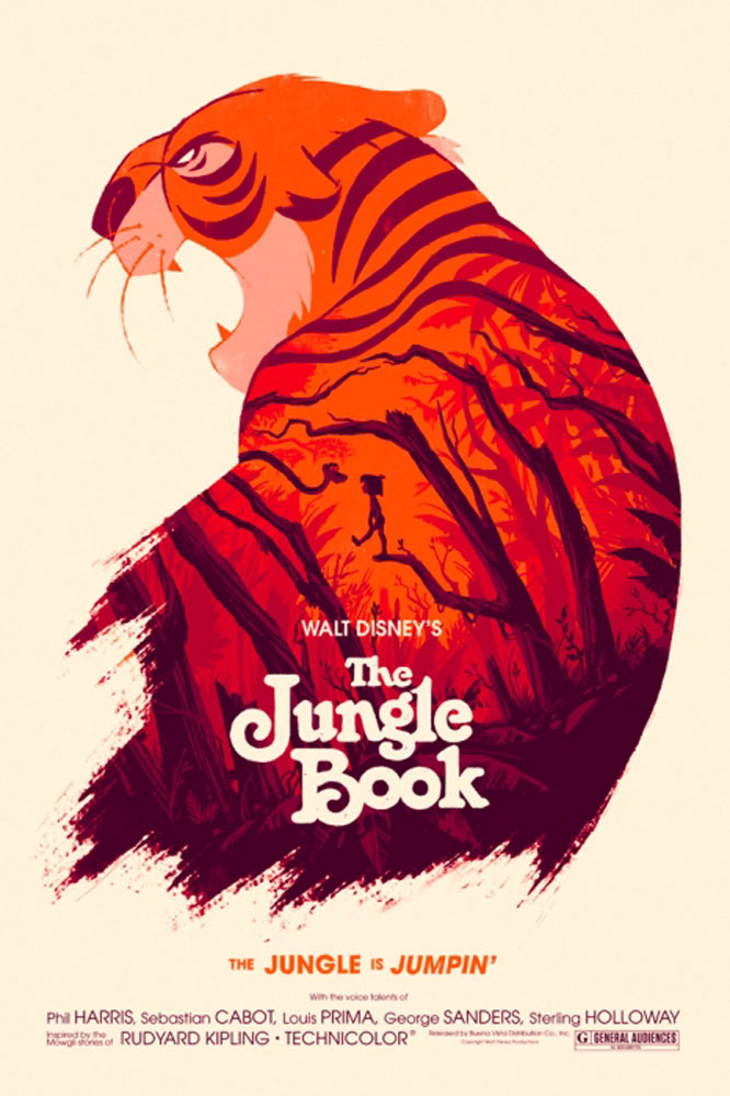 Jungle Book (the) by Walt Disney