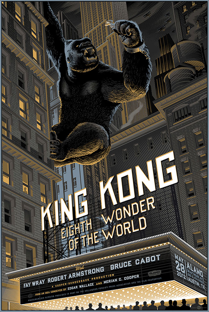 King Kong - Regular by Merian C Cooper (24 x 36 in)