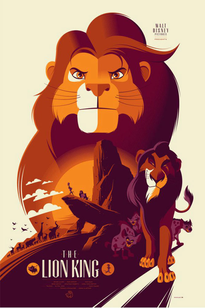 Lion King (the) par Walt Disney (61 x 91 cm)