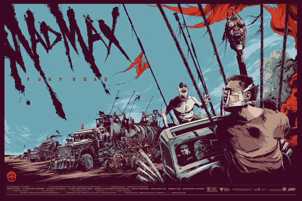 Mad Max : Fury Road par George Miller (61 x 91 cm)