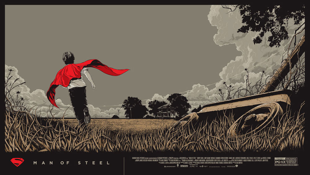 Man Of Steel - Regular by Zack Snyder (20 x 36 in)